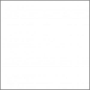 CBW, Ombrarts - Panneau intérieur Acrylique blanc B1TD-INT