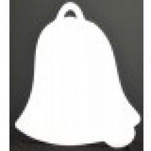 """CBW, Cloche 9"""" en acrylique blanc  # B1N-068-090"""
