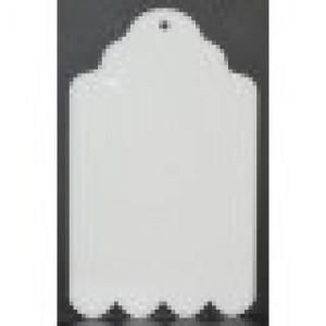 """CBW, Étiquette  4.5"""" en acrylique blanc  # B1T-010-045"""