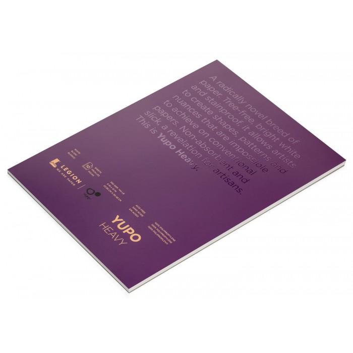 """Yupo, Tablette Papier Aquarelle Synthétique 144lbs,  9"""" x 12 10 feuilles # LP389WH912"""