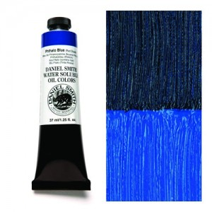 Daniel Smith, Huile hydrosoluble Bleu de Phthalocyanine Nuance de rouge #284390033