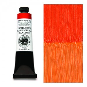 Daniel Smith, Huile hydrosoluble Nuance de Jaune de Cadmium Orange #284390035