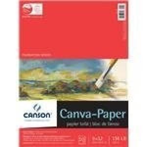 """Canson, Tablette Papier-Canva 9"""" x 12"""" #702-145"""